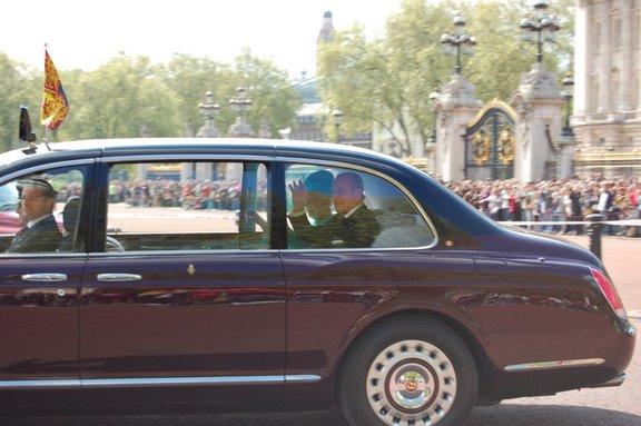 queen elizabeth @ backhingam palace 2009. apirlis 28