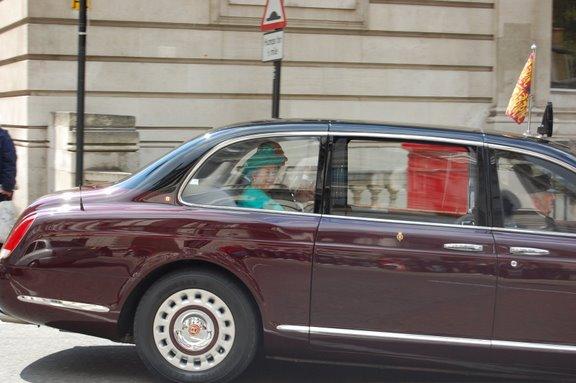 queen elizabeth @ parliament street 2009. apirlis 28